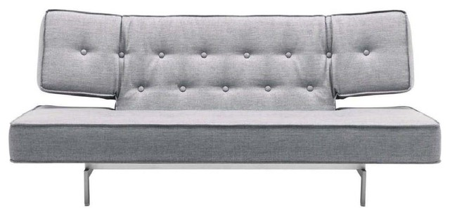 Modern Sofa Bed With Tufted Cushion Modern Futons by NEW