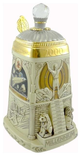 Anheuser-Busch Celebrating The Millennium Stein Lidded Beer Mug