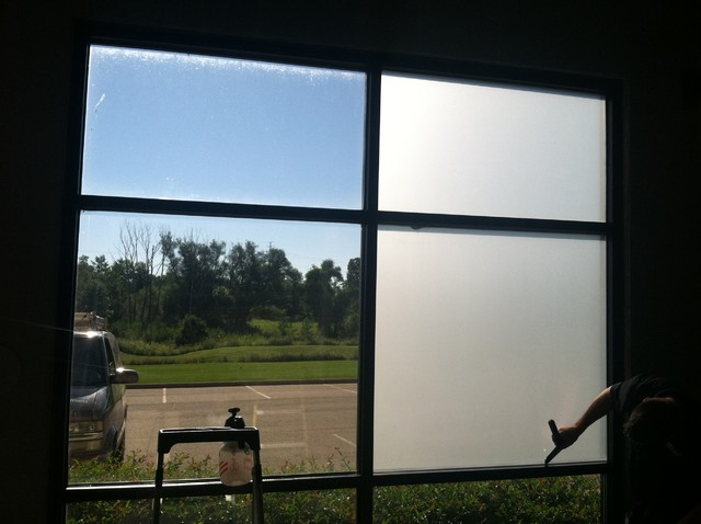White Frost Window Film Industrial Cleveland By Tint
