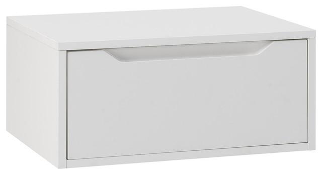 Belsk Bathroom Vanity Base With Top, White