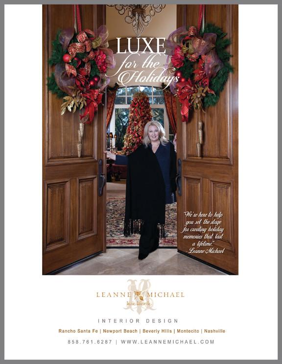 L U X E Christmas Holiday Decorating