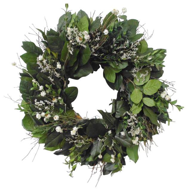 "Irish Spring Wreath, 22"""