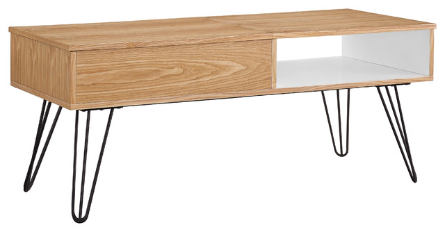 Perry coffee table midcentury coffee tables by for Table warren silex