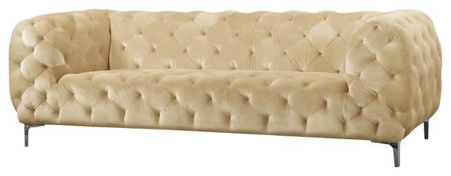 Palmer Velvet Sofa Contemporary Sofas By Meridian
