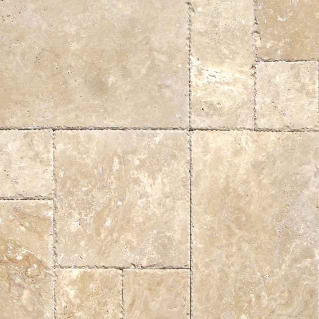 Tuscany Beige Travertine Versailles Pattern Tiles Honed Magnificent Versailles Pattern