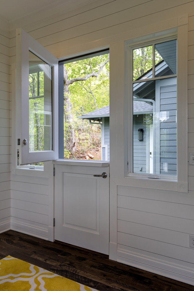 Inspiration for a craftsman home design remodel in Other
