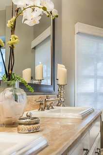 Master Bath Vanity Transitional Los Angeles By