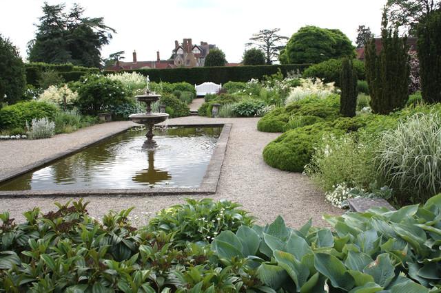 Loseley House, Guildford, Surrey -white garden