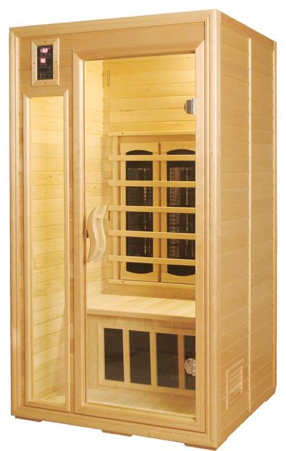 shop houzz sunheat sunheat classic 1 2 person far infrared sauna saunas. Black Bedroom Furniture Sets. Home Design Ideas