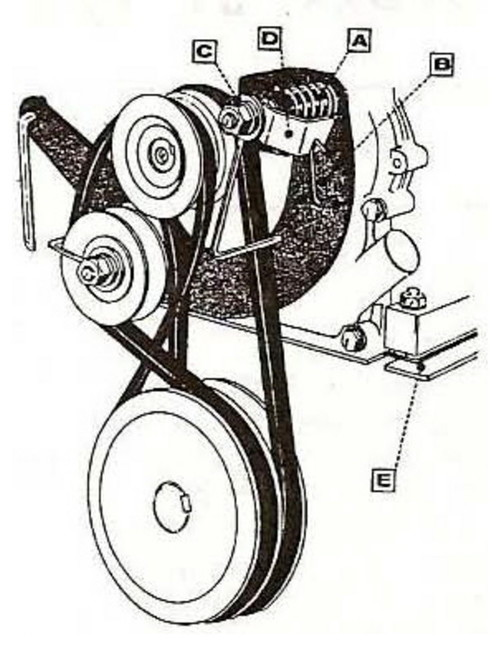 montgomery ward tiller parts diagram