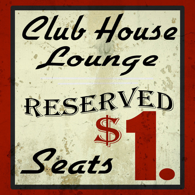 Club House Lounge Reserved Sign Vintage Advertisement On Wrapped Canvas Contemporary Prints And Posters By Penny Lane Publishing Inc