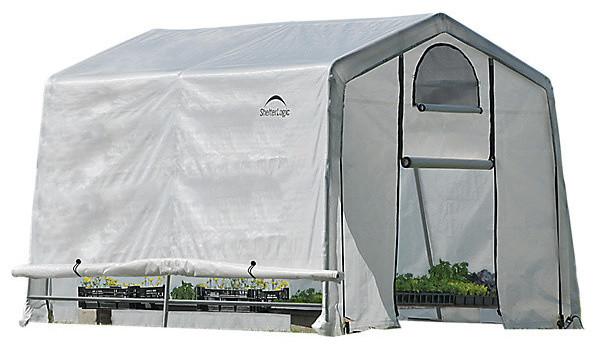 Growit Greenhouse-In-A-Box Easy Flow Greenhouse Peak, Style 10&x27;x10&x27;x8&x27;.