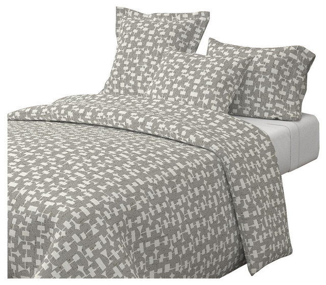Mid-Century Modern Retro Abstract 100/% Cotton Sateen Sheet Set by Roostery