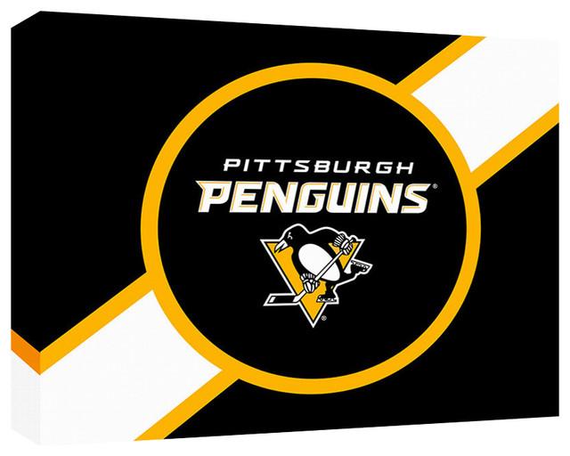 "Pittsburgh Penguins Logo 2, 18""x24""x1 3/4"""