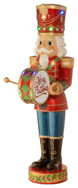 """60"""" Pre-Lit Animated and Music Playing Nutcracker Decoration"""