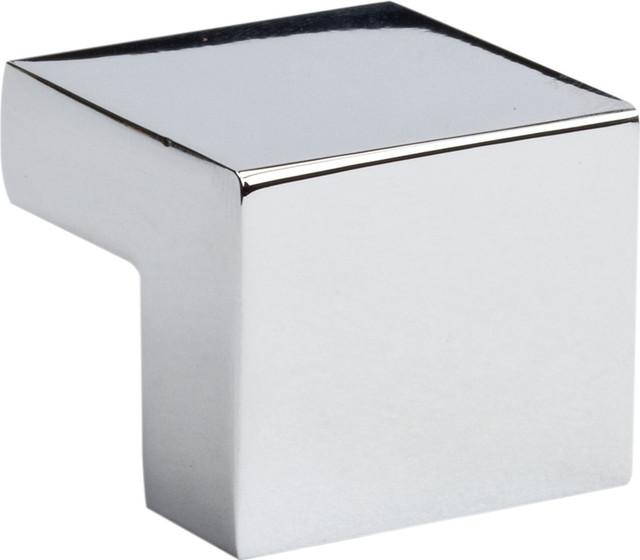Atlas Homewares Small Square Knob 16mm CC - Contemporary - Cabinet ...