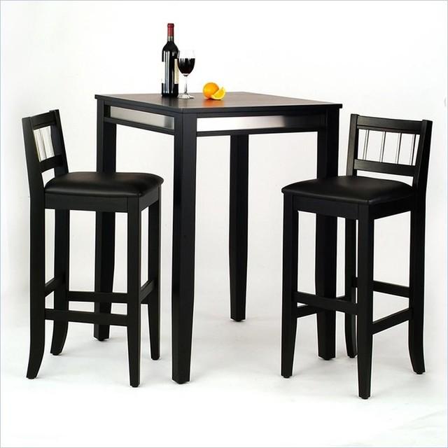 Bar Table Black  Transitional