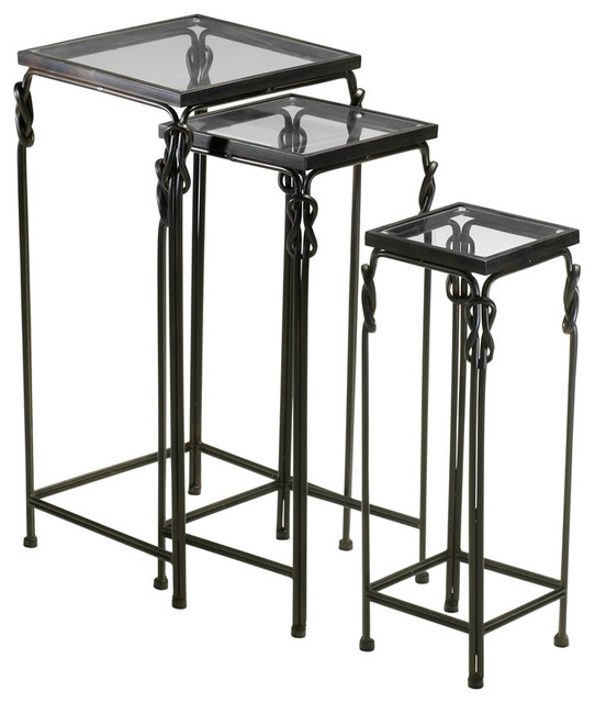 Dupont Nesting Tables Industrial Coffee Table Sets