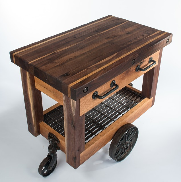 Butcher's Block Cart