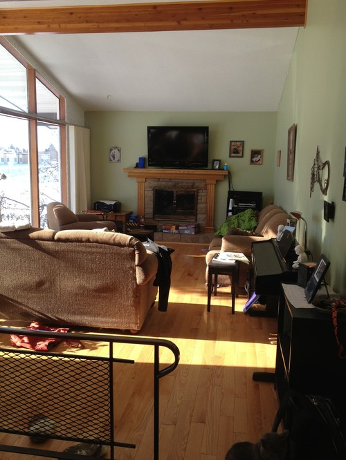 How Can I Arrange The Furniture To Make This Living Room