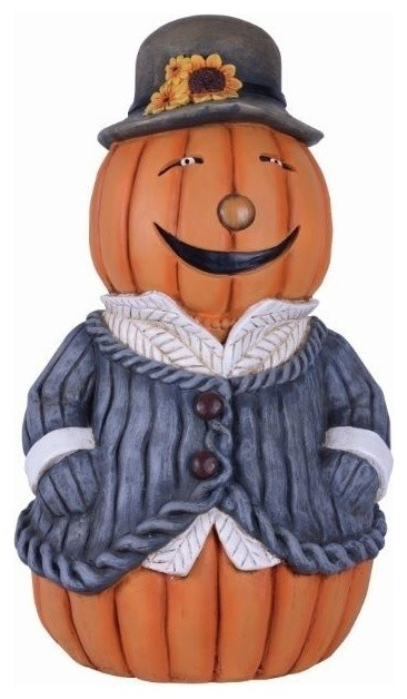 Mrs. Pumpkin Figurine.