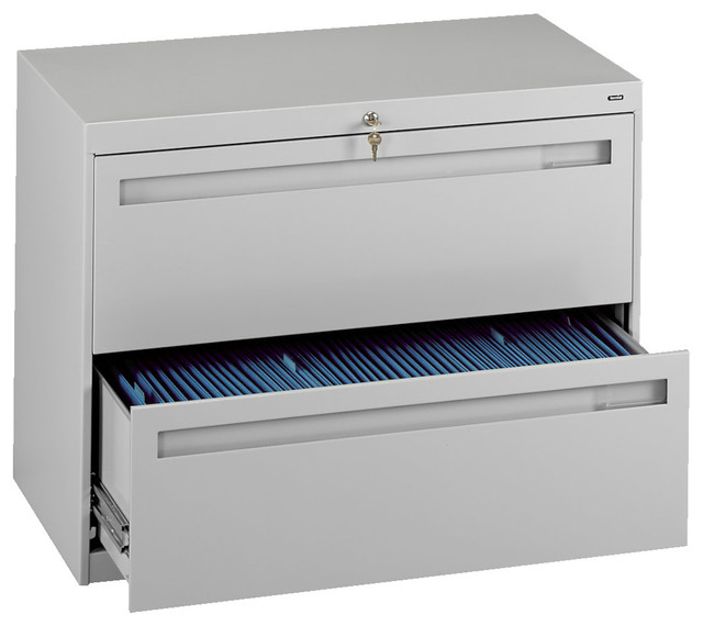 """42"""" 2-Drawer Lateral File Cabinet - Contemporary - Filing Cabinets - by Tennsco Corp"""
