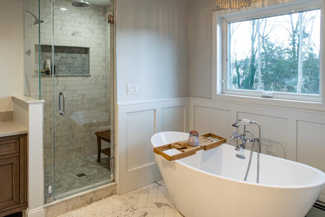 Westfield Master Bath & Closet