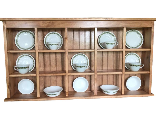 Rack And Saucer Large Wall Hanging