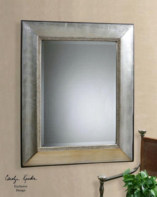 Uttermost Fresno Antique Silver Mirror.