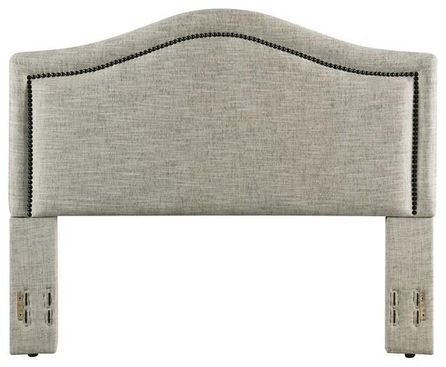 Gregory Upholstered Headboard, Sandstone, King/california King.
