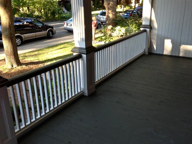 Toronto Roncesvalles Porch Restoration traditional
