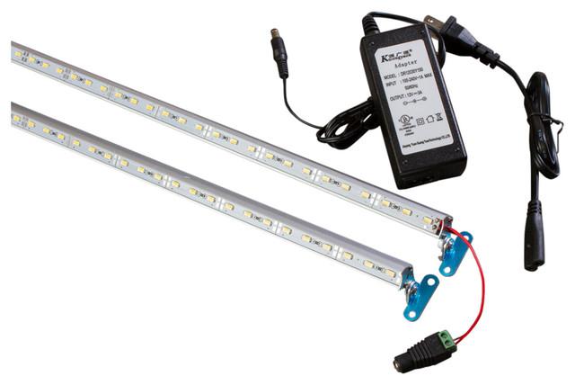 """LEDUpdates 44"""" Combo ( 24"""" + 20"""") Showcase LED Light With UL Power Supply V5630"""