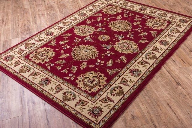 "Well Woven Timeless Abbasi Area Rug, Red, 2'3""x3'11"""