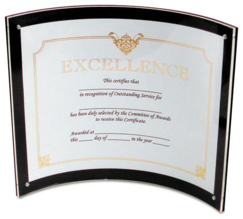Superior Image Magnetic Certificate Holder, Plastic, 8-1/2\