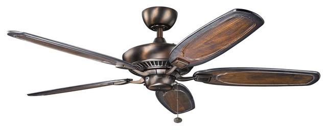 Kichler 300117obb 52 Inch Canfixtureeld Fan.