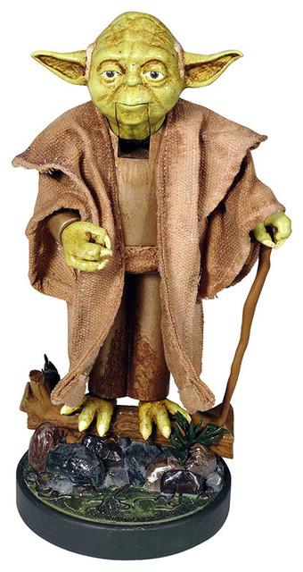 "Kurt Adler 12"" Star Wars Hollywood Yoda Nutcracker"