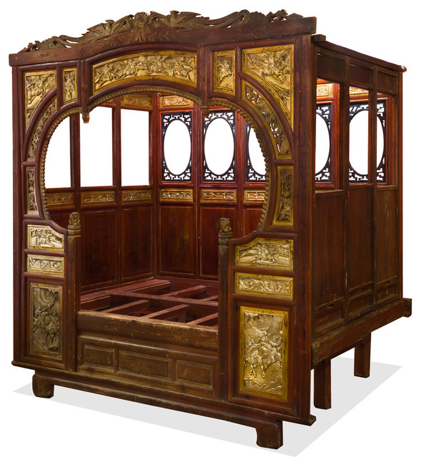 Chinese Traditional Gu Fei Canopy Day Bed Asian Daybeds By China Furniture And Arts