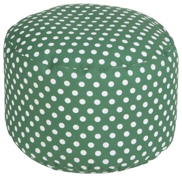 Fantastic Surya Poufs Pouf Ottoman Green Round 20 Cjindustries Chair Design For Home Cjindustriesco