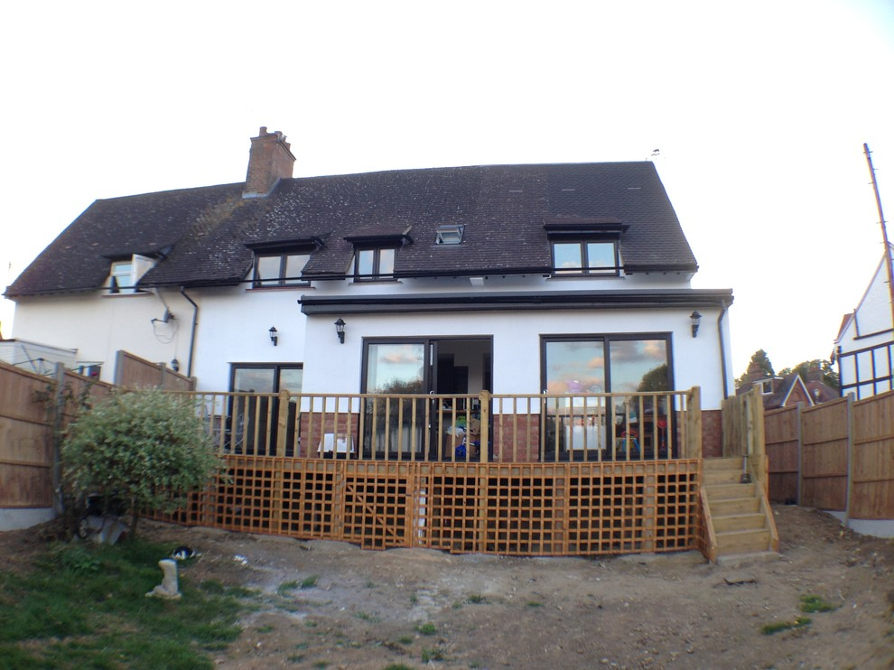 Double storey extension and full refurbishment to a 3 bed cottage in Chorleywood