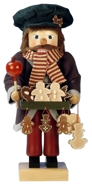 Christian Ulbricht Nutcracker, Gingerbread Vendor, Limited Edition 1000-Pieces