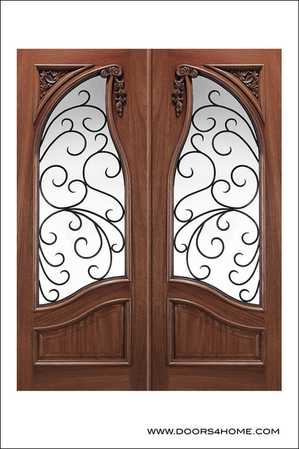 Old World Entry Doors Model 159 Venecia