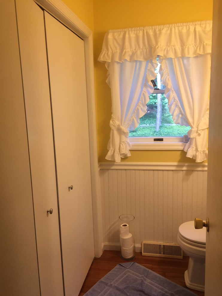 """A closet becomes a, new """"handicapped"""", shower for Phil"""