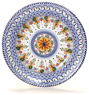 Spanish Floral 13 Quot Majolica Decorative Plate View In