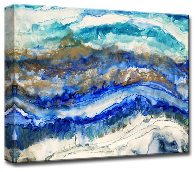 "Ready2Hangart 'Sea Jewels' By Norman Wyatt Jr. Canvas Art, 16""x20"""