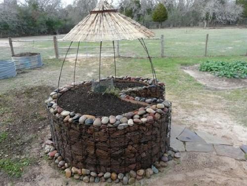 Keyhole gardens for Keyhole garden designs