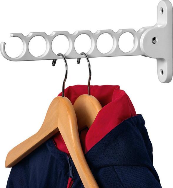 Spectrum Diversified White Hanger Holder