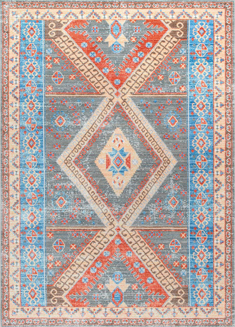 Diamond Key Medallion Area Rugs Southwestern Area Rugs
