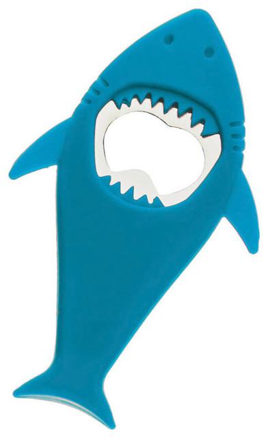 Flex Art Fun Blue Shark Bottle Opener