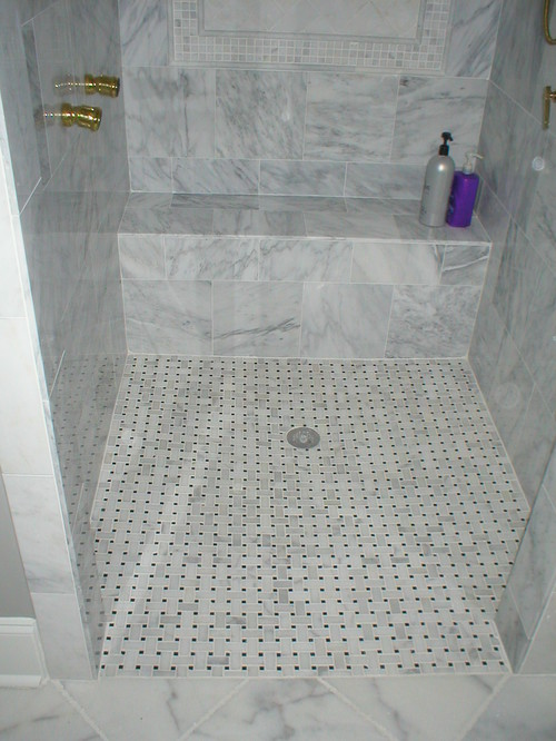 Marble On Shower Floor Slippery?