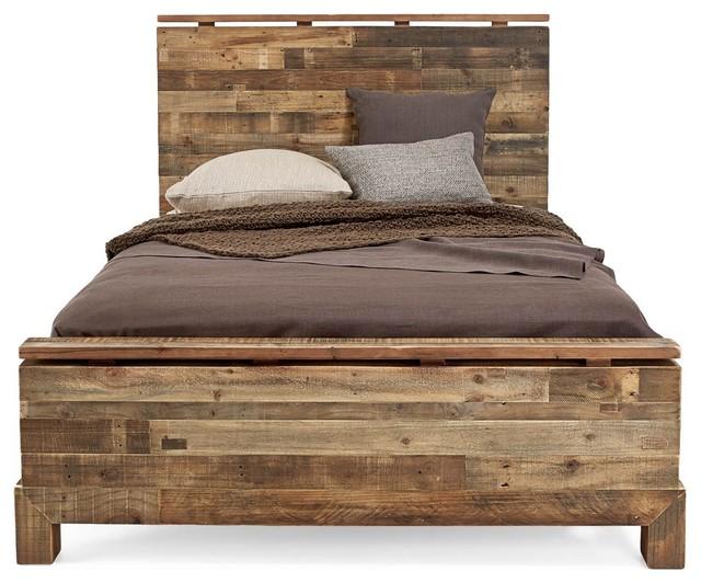 Wood Panel Bed WB Designs - Wood Panel Bed WB Designs